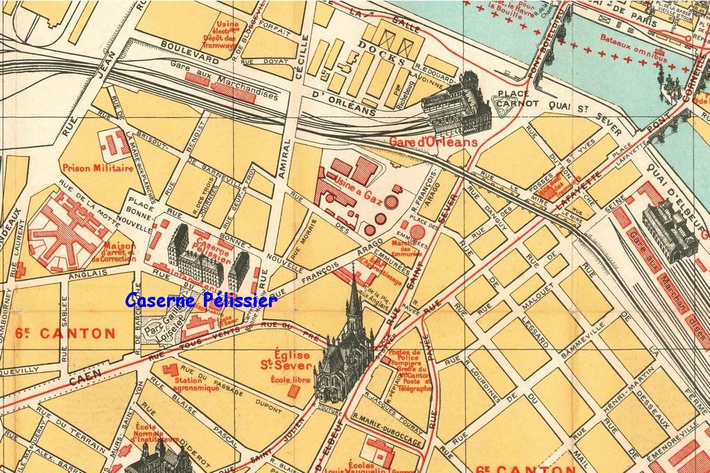 1361130643 rouen plan sud ouest caserne pe lissier