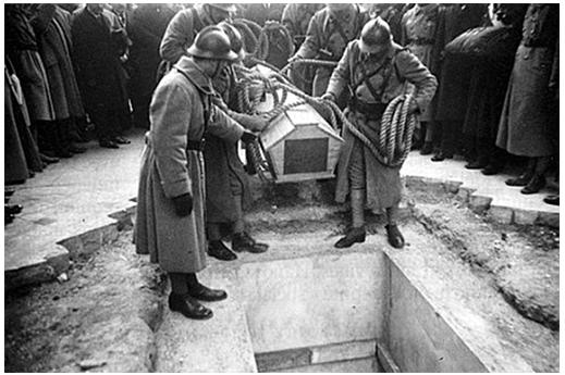 enterrement soldat inconnu 1