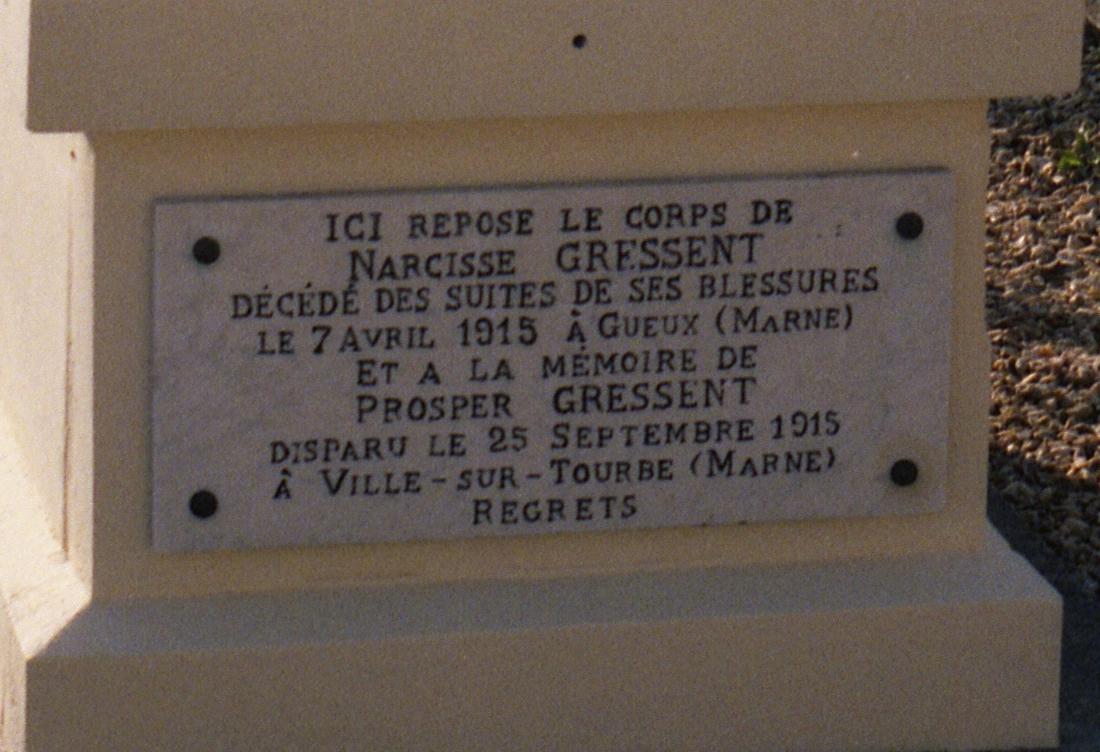 8608 tombe narcisse prosper gressent fresnay