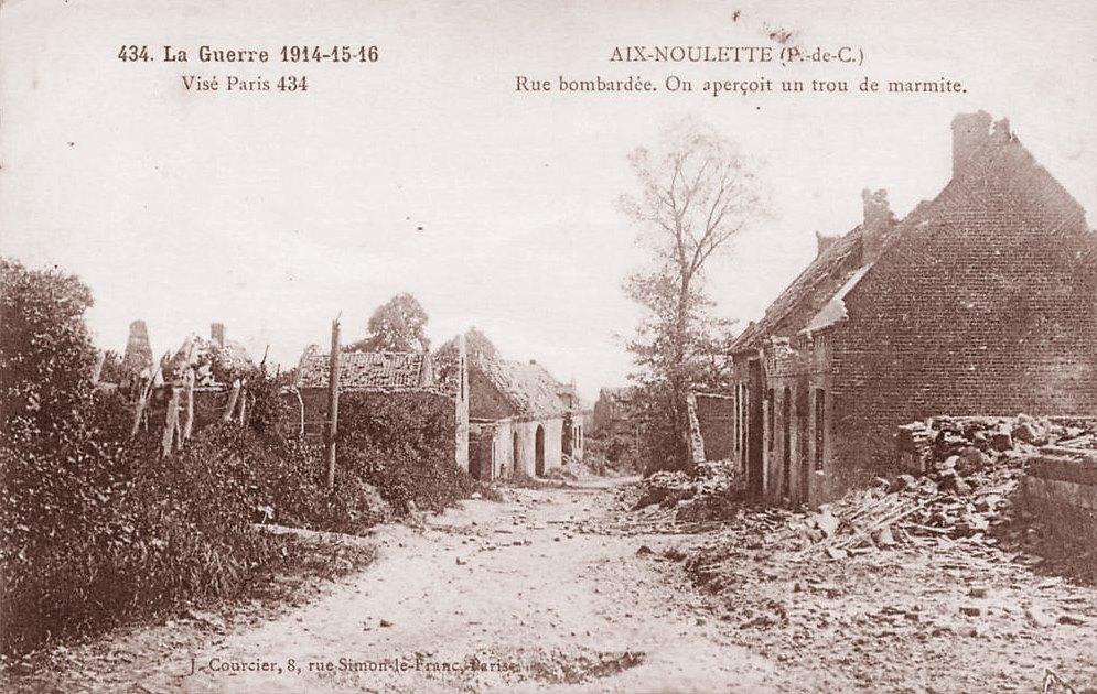 Aix noulette ruines 14 18