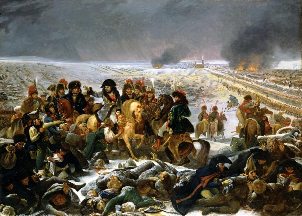 Antoine jean gros napoleon on the battlefield of eylau google art project 1