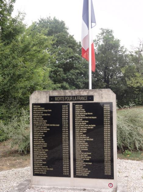 Blercourt nixeville blercourt meuse cimetiere militaire fosse commune