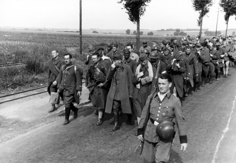 prisonniers francais