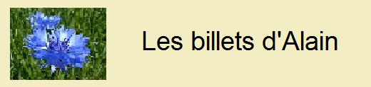 Les billets d'Alain