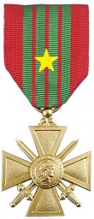 Croix de guerre 39 45 etoile argent 1