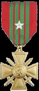 Croix de guerre 39 45 etoile argent