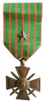 Croix de guerre etoile de bronze