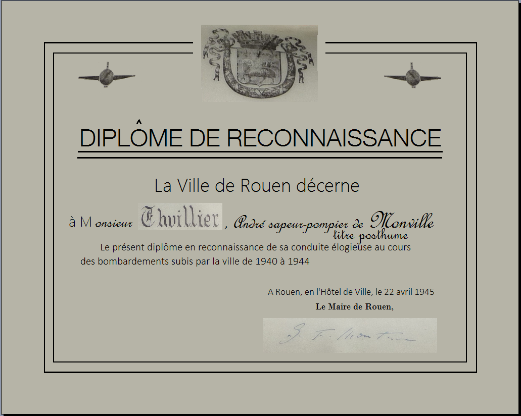 Diplome reconstitution