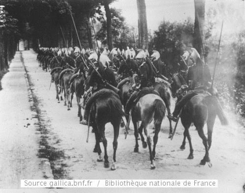French dragoons 1914