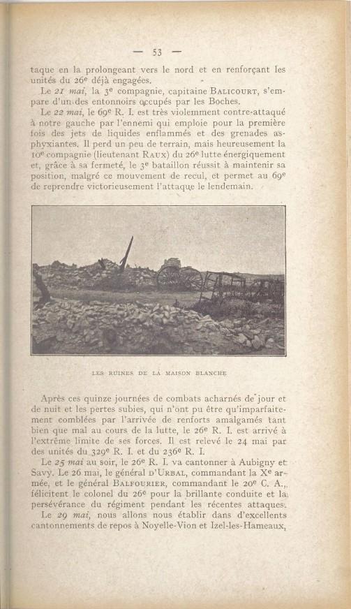 Historique du 26e regiment d infanterie bpt6k96464686