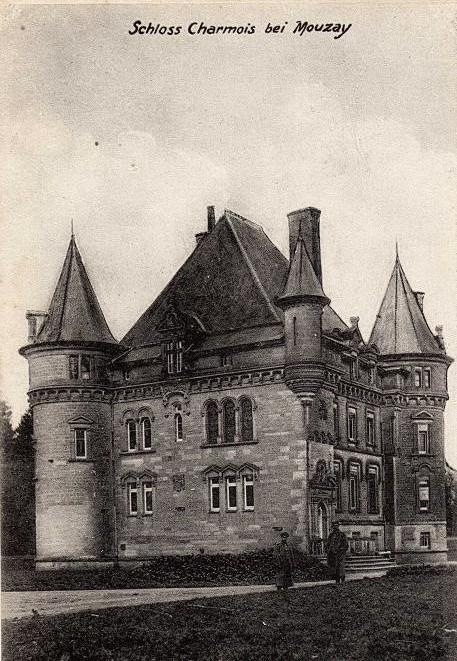 Le chateau de charmois mouzay 55