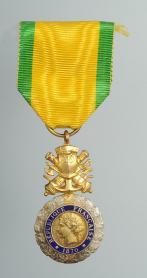 Medaille militaire creation le 22 janvier 1852 8e type 1