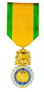Medaille militaire officielle 39 45