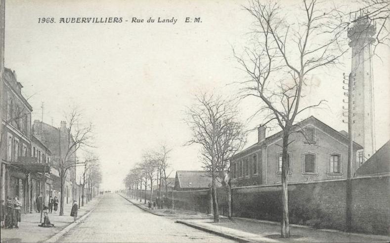 Rue du landy aubervilliers